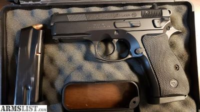 For Sale: Cz 75 P01 compact 9mm