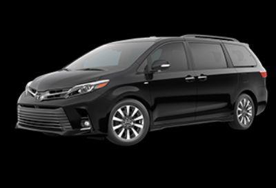 2019 Toyota Sienna Limited Premium (Midnight Black Metallic)