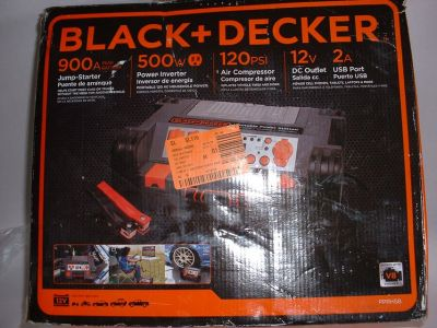 Portable Power Station Black & Decker