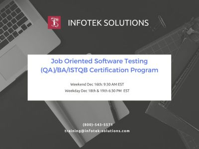 Career boosting Software Testing/QA/BA/ISTQB Certification Training