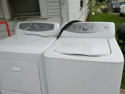 Washer dryer combo or obo