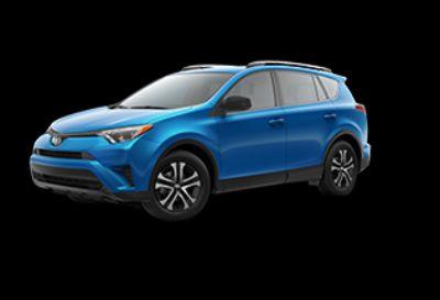 2018 Toyota RAV4 LE (Electric Storm Blue)