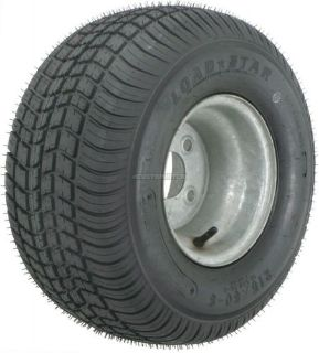 "Find 2-Pack Kenda Trailer Tire On 7""x8"" Rim #5246 215/65-8 215/65 LRC 4Lug Galvanized motorcycle in Naples, Florida, United States, for US $108.95"