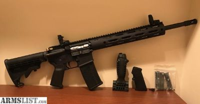 For Sale/Trade: Brand New, Unfired, Custom AR15 w/ Magpul furniture + extras