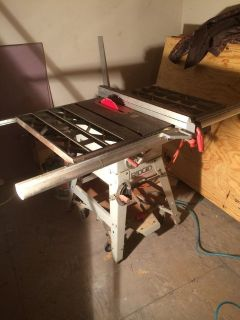 Table Saw, RIDGID