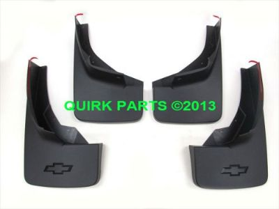 Purchase 2014 Chevy Silverado Molded Front & Rear Splash Guard Set OEM BRAND NEW Genuine motorcycle in Braintree, Massachusetts, United States, for US $89.88