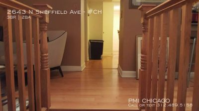 Lovely Lincoln Park Apt - central air, in unit w/d, hardwood, parking