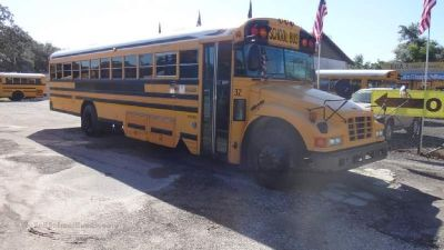'05 Bluebird Vision School Bus with Storage $12,500