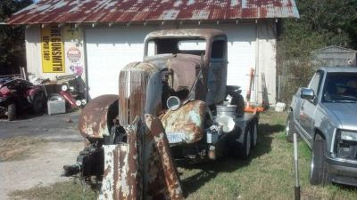 1937 Chevy PU Rat Rod Project
