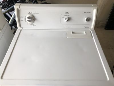 Kenmore Washer and Electric Kenmore Dryer