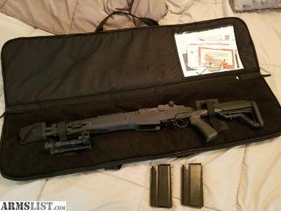 For Sale: Springfield M1A Sp**CQB**Socom with 500rds