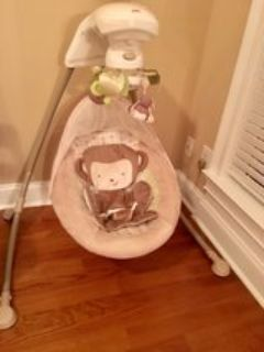 Fisher Price Snug-a-Monkey Swing