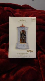 New in package. Hallmark Keepsake, The Gargoyle Guard, Harry Potter ornament. Ave online price is $49.00 with shipping. Asking $32.00.