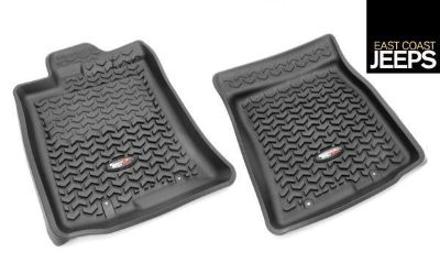 Purchase 82904.30 RUGGED RIDGE Front Floor Liners, Black, 07-11 Toyota FJ Cruiser motorcycle in Smyrna, Georgia, US, for US $89.99