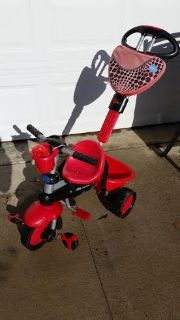Smart Trike 4 in 1 Ladybug Tricycle