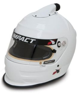 Purchase IMPACT RACING 16099509 AIR VAPOR HELMET LARGE WHITE SA2010 motorcycle in Moline, Illinois, US, for US $849.99
