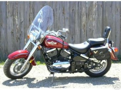 """Purchase 1500 Kawasaki VULCAN CLASSIC VN1500 - Clear 22"""" Touring Windscreen/Windshield motorcycle in Viola, Arkansas, United States, for US $201.15"""