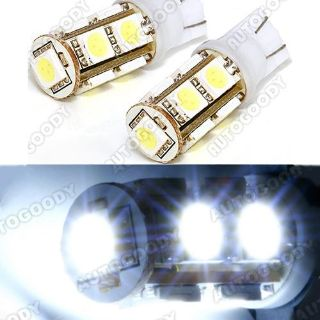 Purchase 2x HID WHITE LED Bulbs 9-SMD Reverse Backup Lights Map motorcycle in Chicago, Illinois, US, for US $8.99