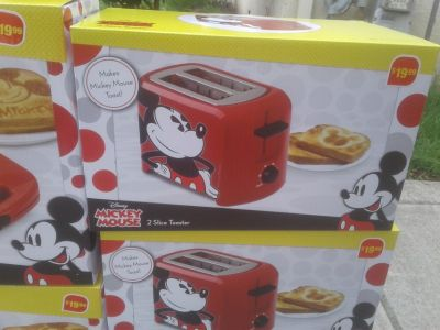 Mickey Mouse Toaster- Brand New in Box!
