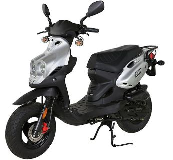 2018 Genuine Scooters Roughhouse 50 250 - 500cc Scooters Winterset, IA