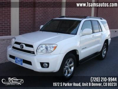 2006 Toyota 4Runner Limited (Natural White)