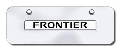 Find Nissan Frontier Name Chrome/Chrome Mini-License Plate Made in USA Genuine motorcycle in San Tan Valley, Arizona, US, for US $29.87