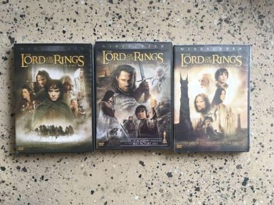 Lord of the Rings trilogy set
