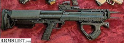 For Sale: KEL-TEC KSG 12 GAUGE SHOTGUN !!!LOTS OF EXTRAS!!!