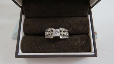 Jared's 3CT Solid 14K White Gold Ring