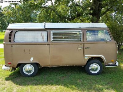 1971 Westfalia Camper (Pop Top) Van