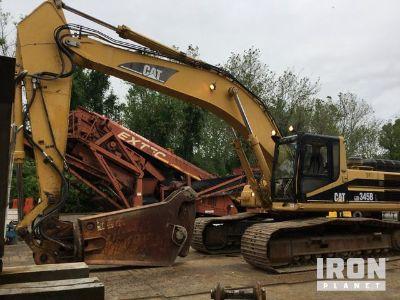 Cat 345BL Track Excavator