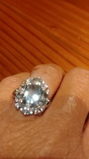 SIZE 8 BEAUTIFUL BOUGHT TOO BIG 925 SILVER