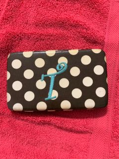 Wallet with T monogrammed