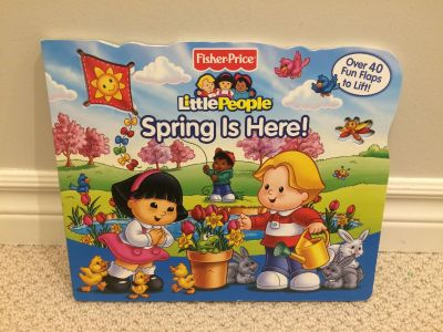 Fisher Price Little People Book