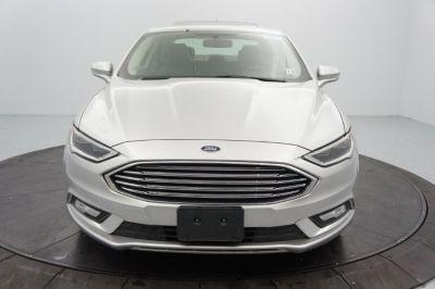 2017 Ford Fusion Hybrid Titanium FWD (Ingot Silver)