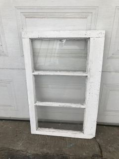 """GORGEOUS Wood old windows - 21""""x34""""- perfect for project-10$"""