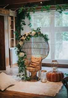ISO vintage wicker chair