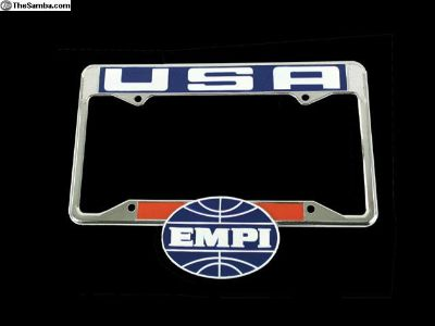 EMPI License Plate Frames