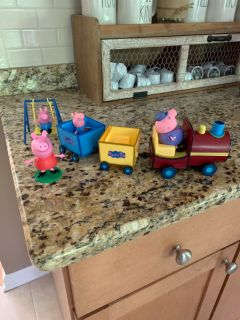 Peppa Pig Playset. Excellent condition!