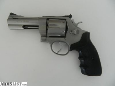 """For Sale: Smith & Wesson Model 625-3 Stainless 4"""" Barrel Model Of 1989 .45 ACP"""