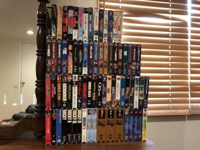 Lots And Lots Of VHS Tapes