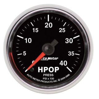 Purchase AutoMeter 3896 GS High Pressure Oil Pump Gauge motorcycle in Naperville, IL, United States, for US $216.95