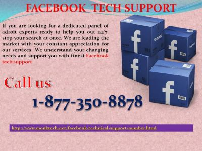 Acquire Facebook Tech Support @ 1-877-350-8878 to blacklist the FB scammers