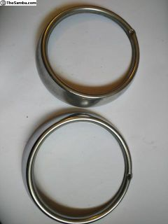 Hella headlight ring set