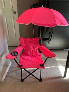Toddler Umbrella Chair w/umbrella