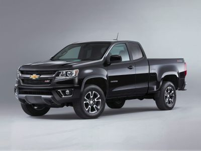 2019 Chevrolet Colorado Work Truck (Steel Metallic)