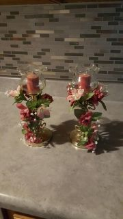 Home interior candle holders
