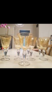 Water or wine goblets