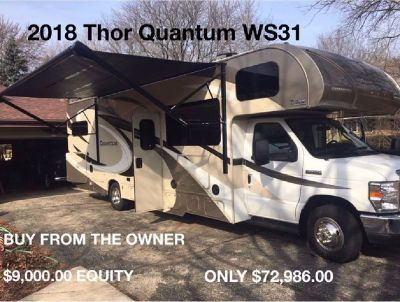 Buy from the owner - 2018 Thor Quantum WS31