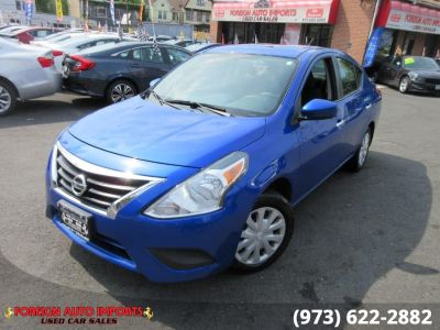 2017 Nissan VERSA SEDAN SV CVT (Graphite Blue)
